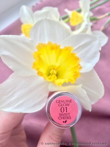 Estee Lauder Genuine Glow Blushing Creme For Lips And Cheeks