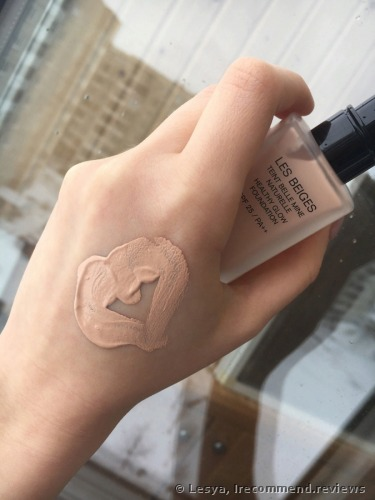Chanel LES BEIGES HEALTHY GLOW FOUNDATION SPF 25 / PA++