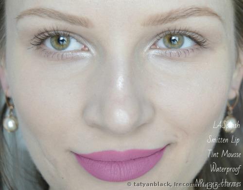 LASplash Cosmetics Smitten LipTint Mousse  Lipstick
