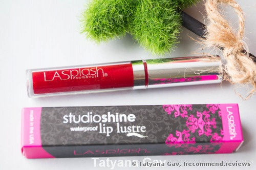 LA-Splash Cosmetics  Studio Shine Waterproof Matte Lip Lustre