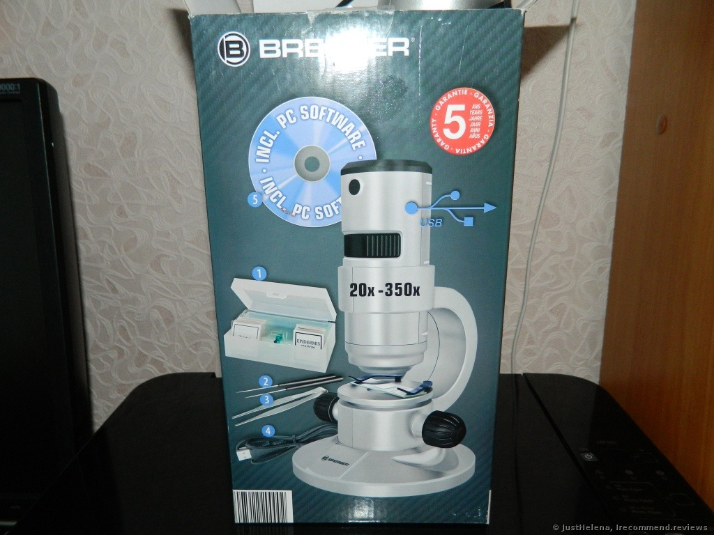 Bresser junior stereo microscope «fascinating toy for