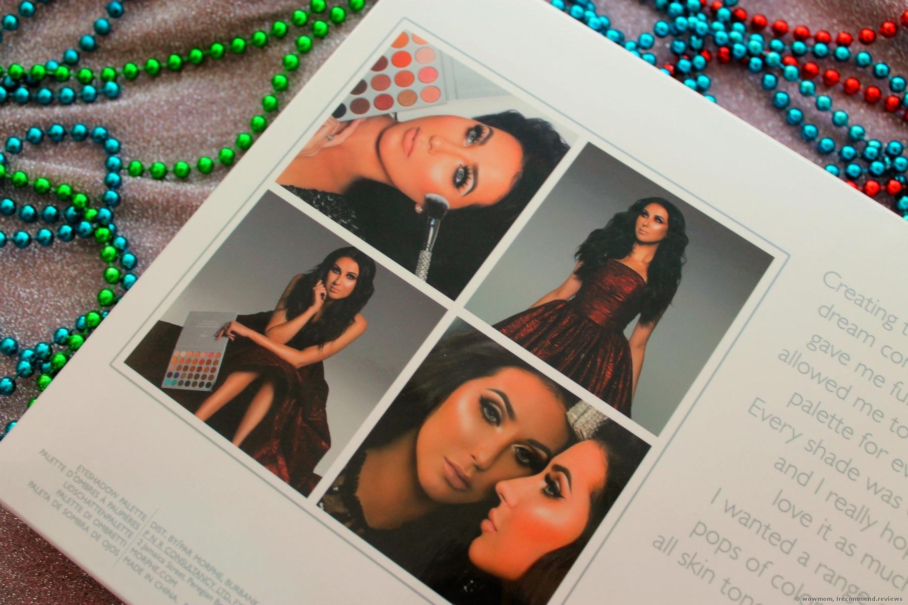 Morphe x Jaclyn Hill Eyeshadow Palette - «A huge palette in