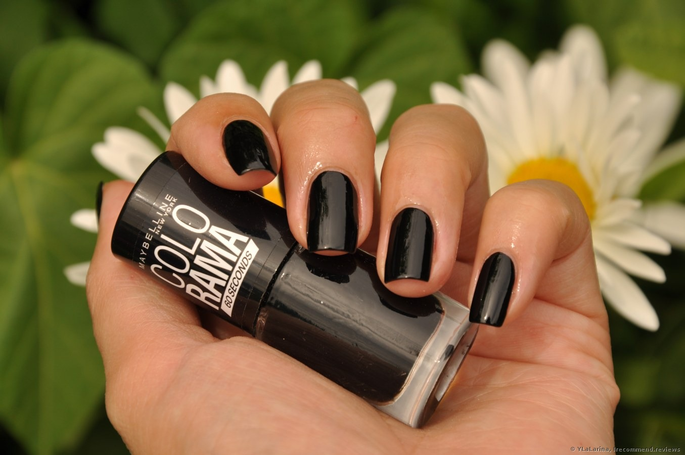 Фото ногтей с лаком мейбелин