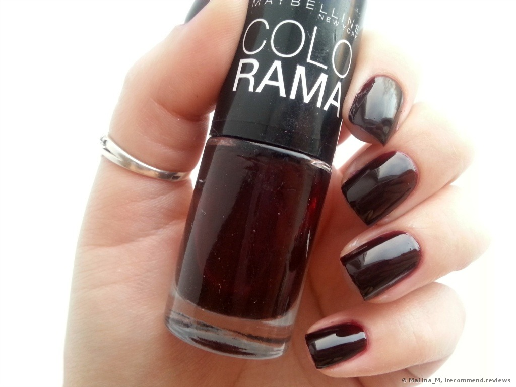 Maybelline Colorama Nail Polish - «One of the best products by ...
