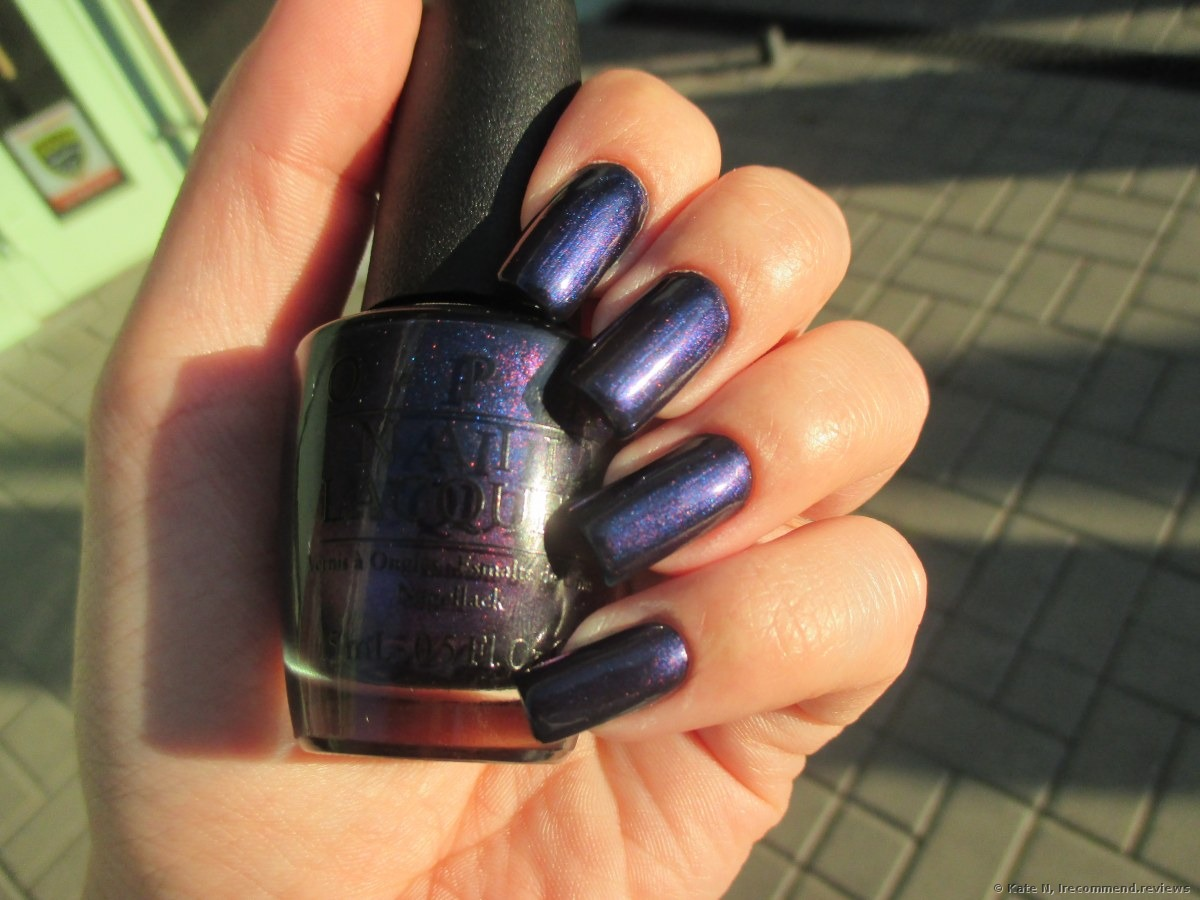 OPI Nail Lacquer - «A very interesting range of colors + photos ...