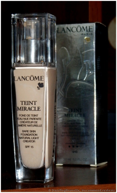 Lancome Teint Miracle Foundation - «My miracle by Lancome :D (photos