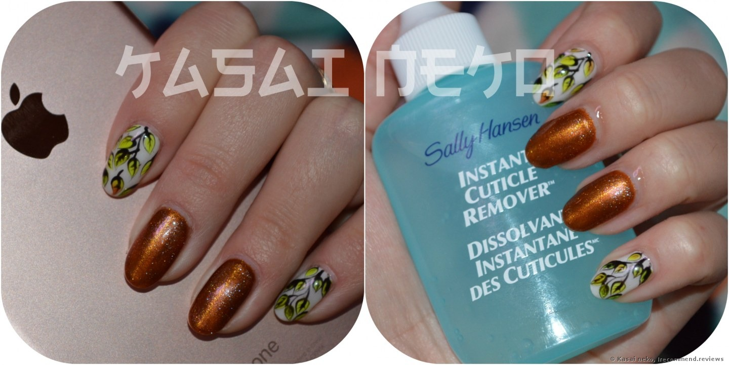 Sally Hansen Instant Cuticle Remover - «Lifesaver for those who do ...