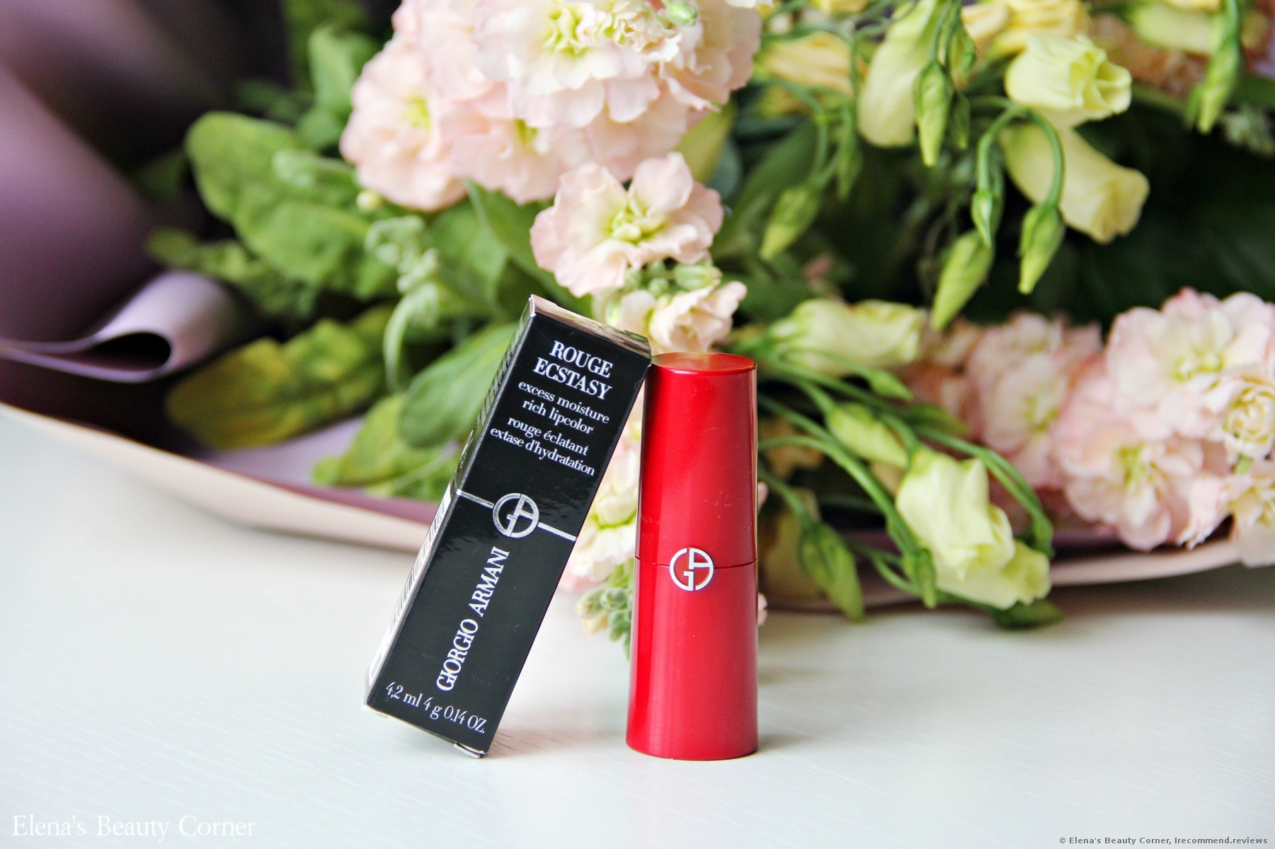 Giorgio Armani Beauty Rouge Ecstasy Bright Summer Vibes With
