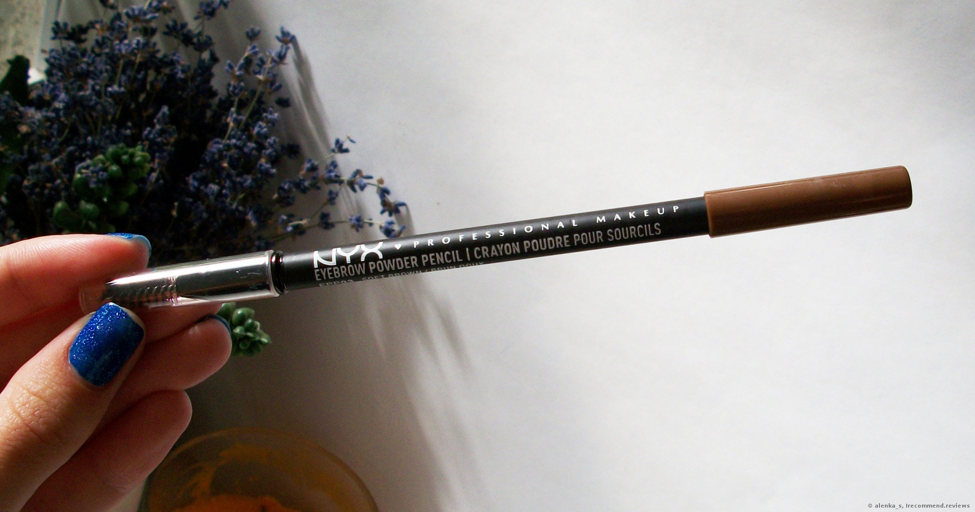 Nyx Eyebrow Pencil Powder Pencil For Naturally Looking And