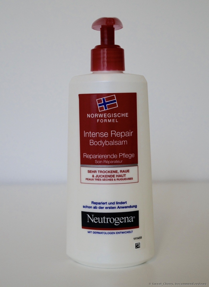 Neutrogena Intense Repair Body Lotion 171 It S Probably The