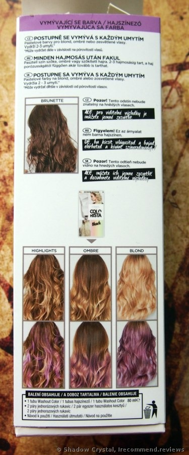 Loreal Colorista Semi Permanent Hair Color Great Stuff To