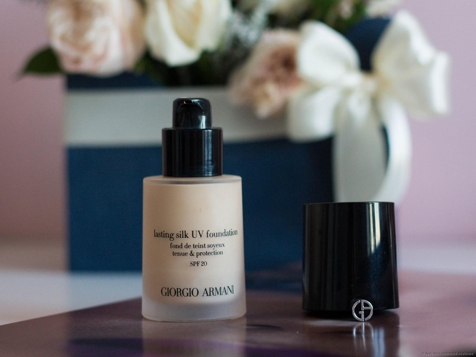 �ล�าร���หารู��า�สำหรั� Giorgio Armani Lasting Silk UV Foundation 30ml.