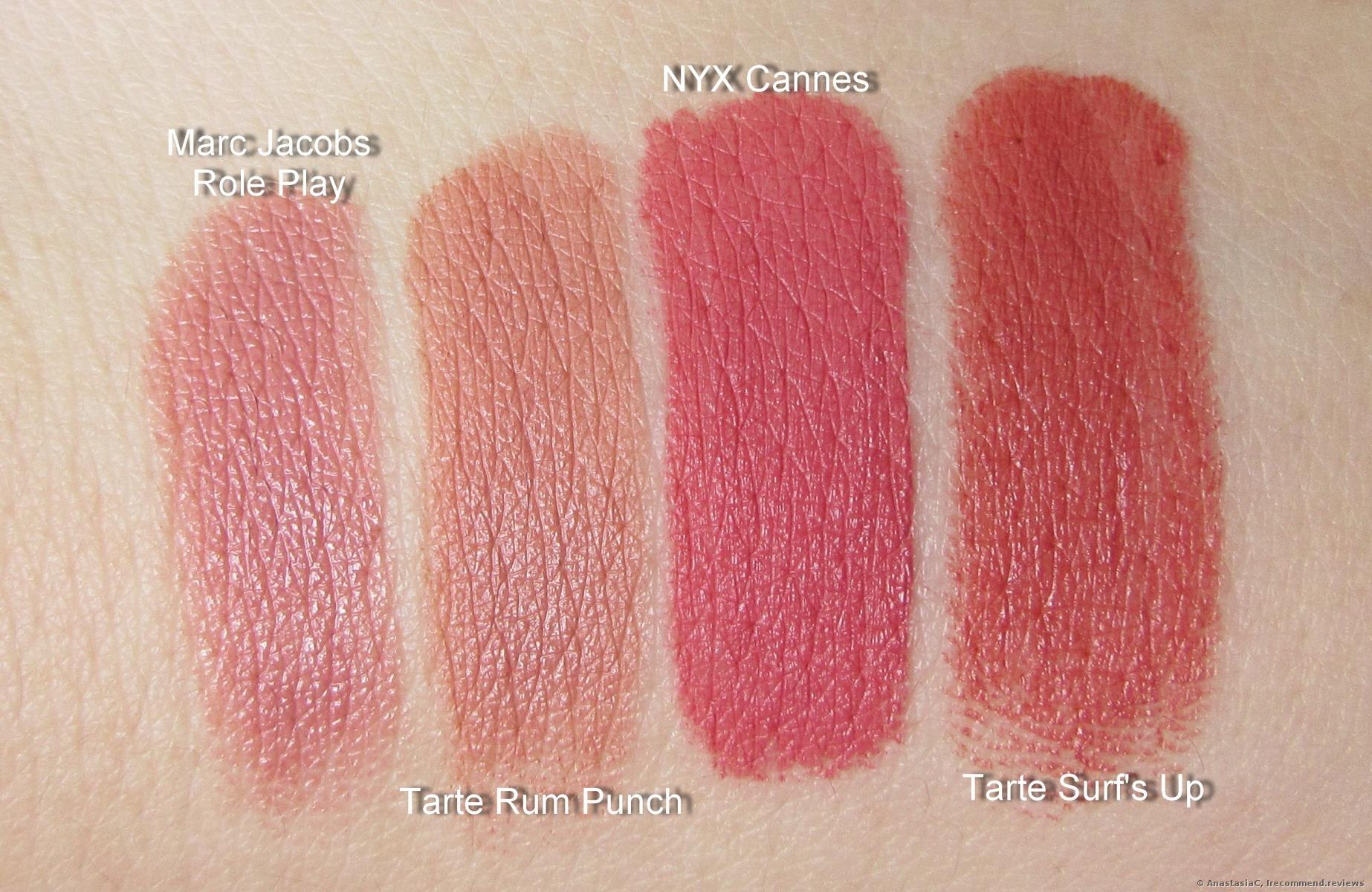 Color Splash Lipstick by Tarte #10