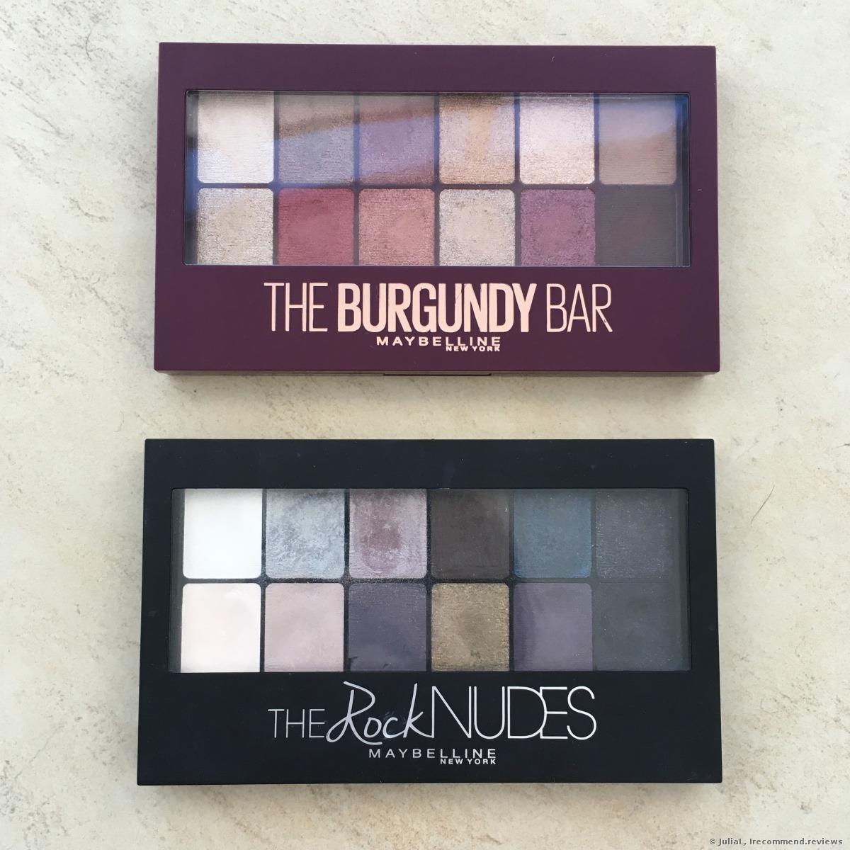 99c841560ba Maybelline The Burgundy Bar Eyeshadow Palette - «12 astounding ...