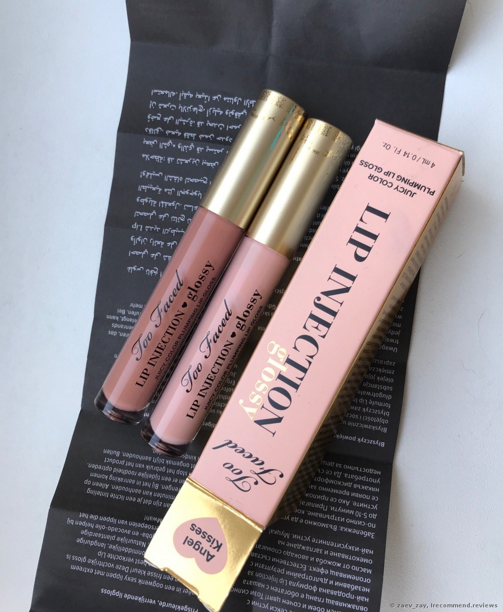 Too Faced Lip Injection Plumping Lip Gloss - «Plumping lip