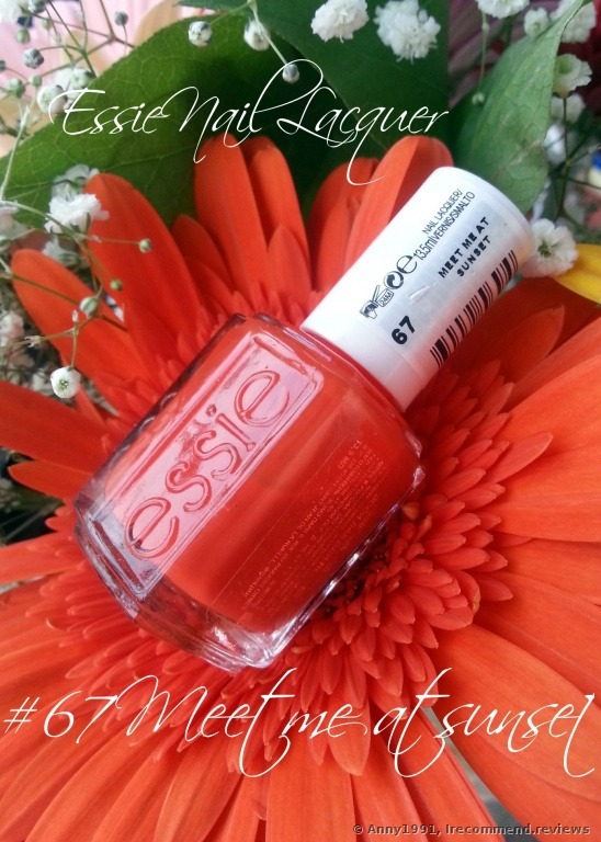 Essie Nail Polish 171 67 Meet Me At Sunset Photos With Stamping 187 Consumer Reviews